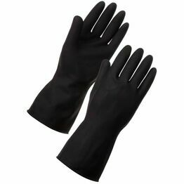 Ex Heavyweight Black Gloves Large