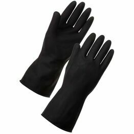 Ex Heavyweight Black Gloves Medium