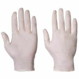 Latex Gloves Large Powder Free