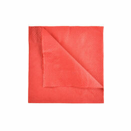 Swantex 33cm 2ply Red Paper Napkins