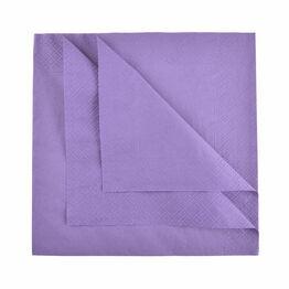 Pack of 100 Swantex Purple Napkins 40cm 3ply