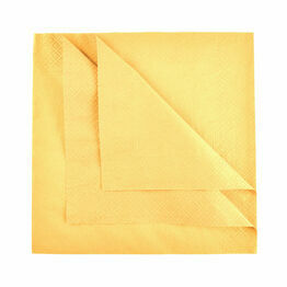 Swantex 40cm 3ply Sunny Yellow Paper Napkins