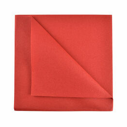 Swantex 40cm Swansoft Red Paper Napkins
