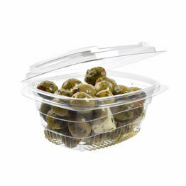 Salad Container 250ml with hinged lid