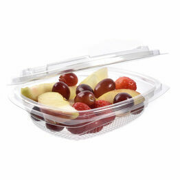 Clear Plastic Takeaway Salad Bowl 375ml Cater Box