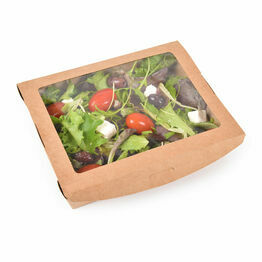 32oz Large Window Salad Box