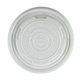 12/16oz Compostable PLA Soup Lids