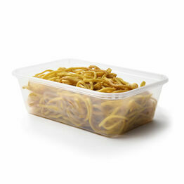 650ml Plastic Satco Microwavable Heavy Duty Containers With Lids