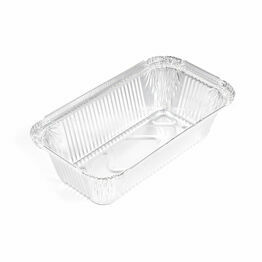 6A Oblong foil takeaway containers