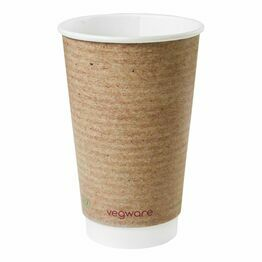 16oz double wall brown kraft cup, 89-Series