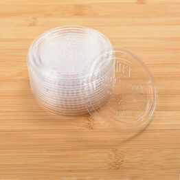 PLA LIDS to fit 4oz Portion Pot