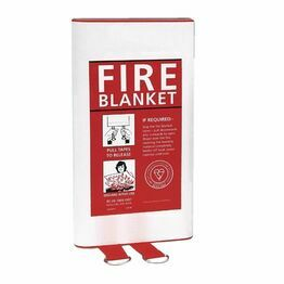 Quick Release Fire Blanket 1m x 1m