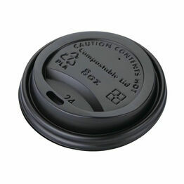 Fiesta Green Compostable Hot Cup Lids 225ml / 8oz