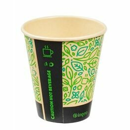 8oz Ultimate Eco PLA Lined Hot Drink Cup