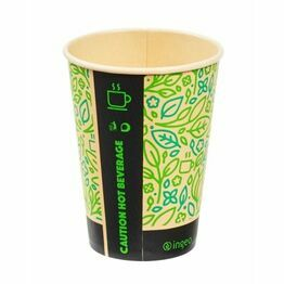 12oz Ultimate Eco PLA Lined Hot Drink Cup