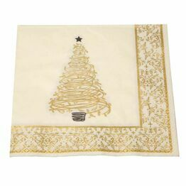 40cm 3 ply Winter Wonderland Napkin