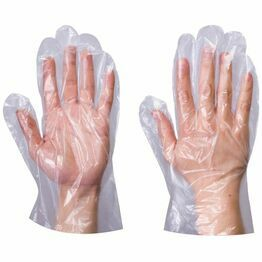 Supertouch Polyethylene General Use Disposable Poly Gloves (100 Gloves Per Pack)