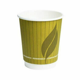 8oz Leaf Double Wall Hot Cup