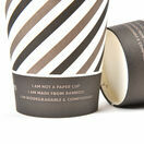 8oz Mixed Design Bamboo Disposable Cups - Compostable additional 2
