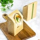 Vegware VWWTT Tortilla / Wrap Kraft Carton additional 2