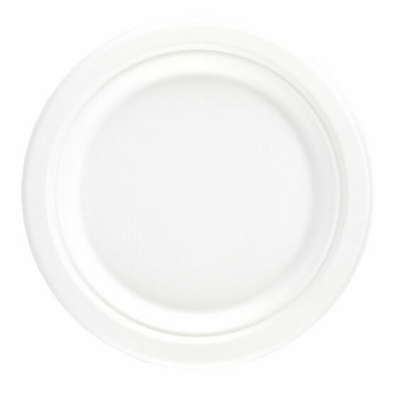 "9"" Bagasse Round Plate"