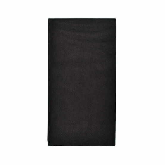Swantex 40cm 2ply Readifold Black Paper Napkins