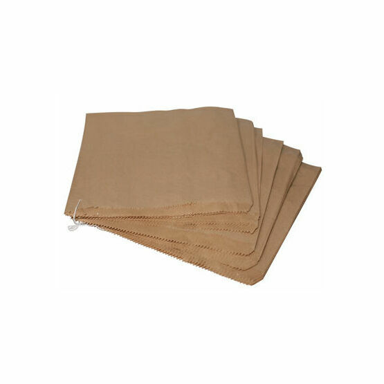 "13"" x 14"" Brown Kraft Paper Bags 33cm x 35.5cm"