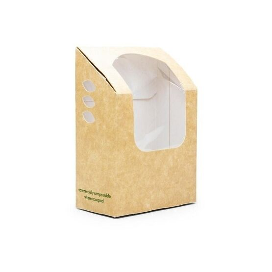 Vegware VWWTT Tortilla / Wrap Kraft Carton